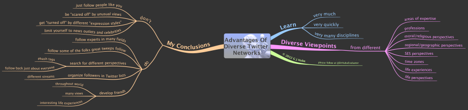 Advantages Of Diverse Twitter Networks