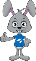 Cartoon Rabbit - Giving A Thumbs Up