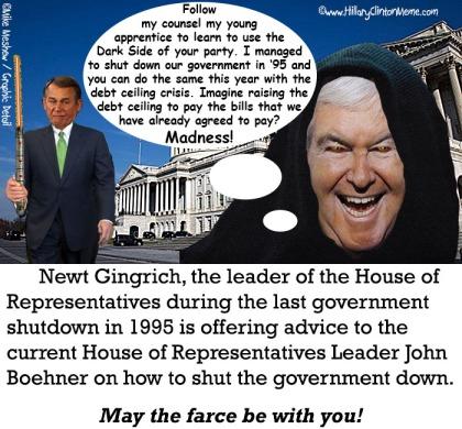 Newt-Gingrich-John-Boehner-Government-Shutdown-Meme-Mike-Meshew