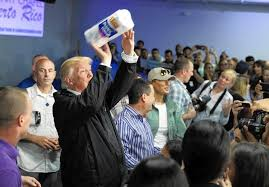 Trump's visit to Puerto Rico had poor optics - The Morning Call
